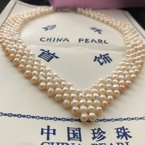 Jewelry - Vintage China Pearl Necklace